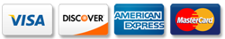 visa discover american express mastercard all accepted in Miami