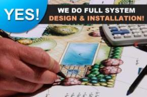 if you need a full system design and installation our Miami sprinkler repair techs are more than qualified to do it