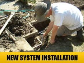 new system installation done by our Miami irrigation repair pros