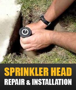 our Miami sprinkler repair techs will install or reapair any sprinkler head